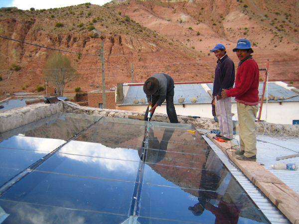 solar space heating Argentina1