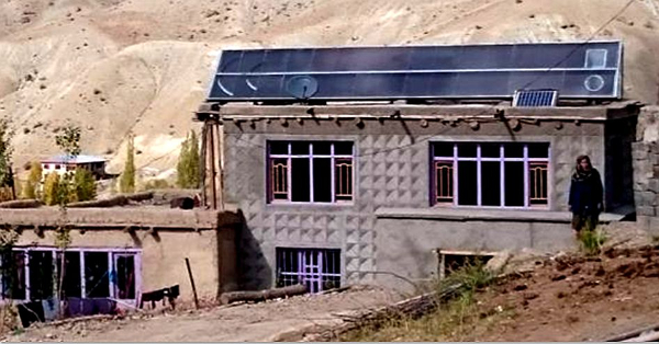 solar space heating Ladakh4